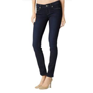 PAIGE Hoxton High Rise Ultra Skinny Dark Jeans